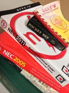 Electrical safety code books